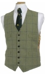 Beaver of Bolton Mens Four Pocket Tweed Waistcoat