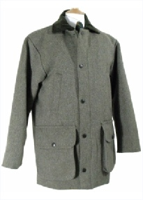 Beaver Tweed Field Coat