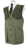 Beaver of Bolton Mens Classic Tweed Shoot Vest