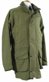 Beaver Mens Tweed Smart Shooting Coat