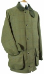 Beaver Of Bolton Mens Raglan Sleeve Tweed Shoot Coat
