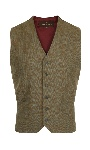 Beaver of Bolton Mens Two/Four Pocket Tweed Waistcoat