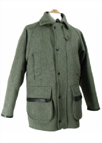 Beaver Crossdale Tweed Shooting Coat