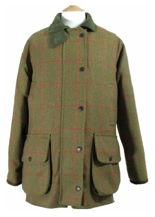 Beaver Ladies Tweed Fitted Shoot Coat