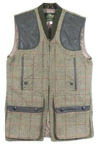 Beaver of Bolton Mens Zip Front Shoot Vest in QT2