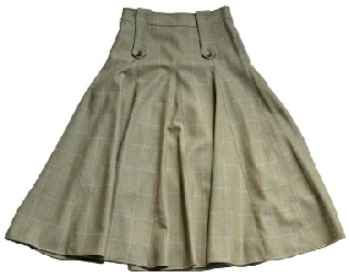 Beaver of Bolton Ladies Long Panelled Leven Field Shooting Skirt
