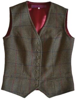 Ladies Single Breasted Waistcoat in LWT 12