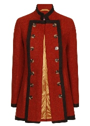 Beaver of Bolton Ladies Framed Pirate Jacket Open