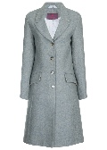 Beaver of Bolton Ladies Tailored 3/4 Peak Lapel Coat Front 2