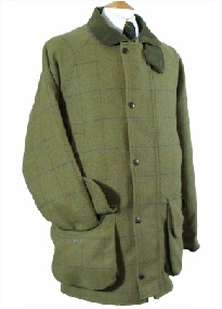 Beaver Mens Tweed Shooting Coat