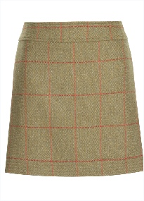 Beaver of BoltonLadies Multi-Stich Short Skirt