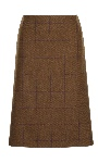 Beaver of Bolton Ladies Mid Hip Tweed Skirt
