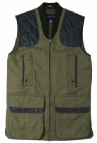 Beaver of Bolton Mens Zip Front Shoot Vest in WT63