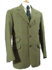 Beaver Mens Tweed Action Back Jacket