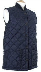 Ladeis Diamond Quilted Waistcoat