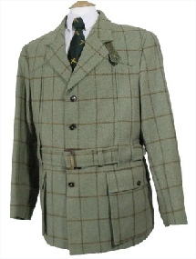 Beaver Mens Tweed Norfolk Jacket