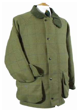 Beaver Mens Tweed Shoot Coat