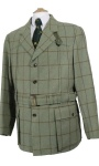 Beaver of Bolton Mens Tweed Norfolk Jacket