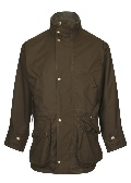 Beaver of Bolton Lightweight Shoot Coat Front 2