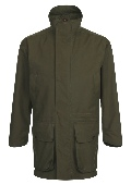 Beaver of Bolton Mens Ventile Smart Shoot Coat Front 2