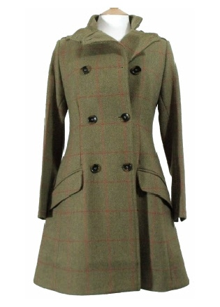 Beaver Ladies 3/4 Military Coat