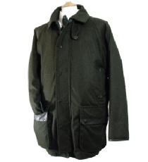 Beaver of Bolton Mens Crossdale Shooting Jacket in Loden